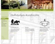 Bild Webseite Hofbräuhaus-Kunstmühle Jakob Blum Mühle München