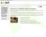 Bild Webseite e-sytech Eschenburg