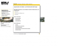 Website JBV Ingenieurbüro Rolf Vogel
