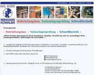 Bild Kowalski Reinhard Dipl.-Ing.(FH), SFI, Rohrleitungsbau, Schweißtechnik, Ing.Büro