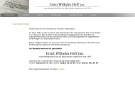 Bild Webseite Köln - Inkassobüro Ernst Wilhelm Hoff jun. Köln