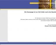 Website Kirchdorfer Erwin Dipl.Ing.FH Innenarchitekt
