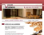 Bild Wortberg Holger Tischlereimeisterbetrieb