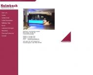 Bild Webseite Kalmbach Innenausbau Simmersfeld