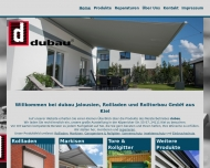 Bild Dubau Jalousien Rolladen-u. Rolltorbau GmbH