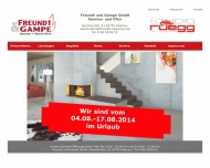 Website Freundt & Gampe