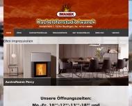 Bild Webseite Iwanek Manfred Kamin- und Kachelofenstudio Reutlingen