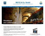 Bild Weitz & Co. GmbH Tiefbau Kanalbau Rohrleitungsbau