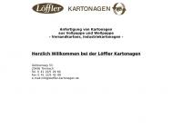 Bild Webseite Löffler Kartonagen Tornesch