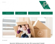 Bild Webseite Wellpappenwerk Lamersdorf Peter Bernard Marx Inden