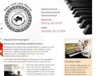 Website Klaviere Helm