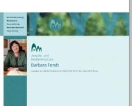 Bild Webseite Fendt Barbara Fachkosmetikerin München