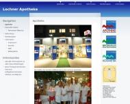 Bild Webseite Kosmetikinstitut Lochner Heilbronn