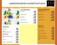 Bild Webseite Junkersdorfer Kosmetikstudio, T.Greven und N. Ruppert Köln