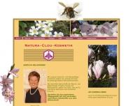 Website Natura-Clou-Kosmetik Schall Renate