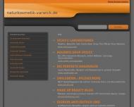 Bild Webseite Varwick Renate Naturkosmetik Düsseldorf