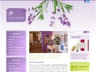 Website Touch of Nature - Wellness und Naturkosmetik - Laden, Salon ...