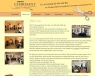 Website Friseur Charmant