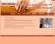 Bild Webseite Aufermann Bettina Medizinische Fußpflegerin Kosmetik Köln