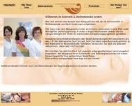 Bild Webseite Kosmetikstudio Karin Anders Berlin