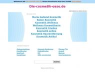 Bild Webseite Cosmetic-Oase Rhein-Spree Berlin