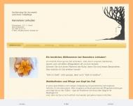 Bild Webseite Linhuber Hannelore Kosmetik- und Fußpflegeinstitut München