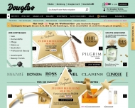 Website Douglas Parfümerie