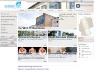 Bild Webseite Kliniken München Pasing und Perlach München
