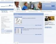 Website Kliniken Landkreises Heidenheim g
