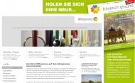 Bild Webseite Klinik Feuchtwangen , Krankenhaus Dinkelsbühl, Krankenhaus Rothenburg o.d.T. Feuchtwangen