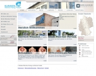 Bild Webseite Klinik München Perlach München