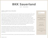 Bild Webseite Betriebskrankenkasse Alcan Deutschland Plettenberg