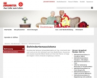 Website Johanniter-Unfall-Hilfe