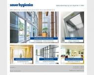Bild sauer hygienica GmbH Dienstleistungen, Gebäudereinigung