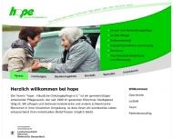 Bild Webseite Hope - Häusliche Onkologie- pflege München