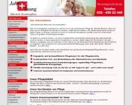 Bild Webseite Häusliche Krankenpflege Jahr & Stang Berlin