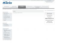Website Ausbildungszentrum All-Service Sicherheitsdienste