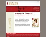 Bild Webseite Top Magazin München und Verlags- und Presseagentur Fedra Sayegh München
