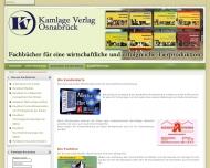 Website Kamlage Verlag