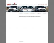 Bild Webseite ms-kurier Transportunternehmen Münster