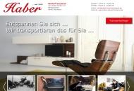 Bild Webseite Marie Haber, Klavier- und Kassenschrank-Transporte Inh. Stefan Körber Nürnberg