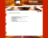 Bild Webseite Pol-Speed Internationale Transporte Aachen