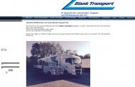 Herzlich Willkommen auf www.blank-transport.de