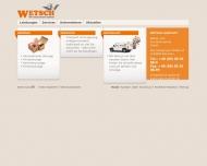 Bild Webseite Gebrüder Wetsch Möbel- und Kunsttransporte München