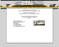 Bild Webseite Hellmich Transport Duisburg
