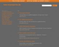 Bild Webseite H.D.W. Transporte Essen