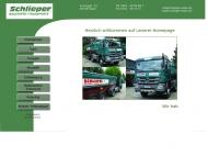 Bild Webseite Schlieper Baustoff + Transport Essen