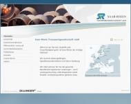 Bild Webseite SAAR-RHEIN Transport Duisburg