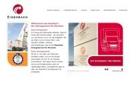 Bild Webseite Eisenbach Hans Internationale Möbeltransporte München