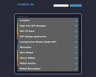 Bild Webseite creaktiv Gesellschaft für Objekteinrichtung Köln